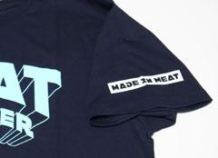 ミートソルジャー2016秋冬Tシャツ ネイビー袖口